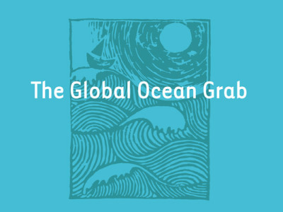 The Global Ocean Grab report cover