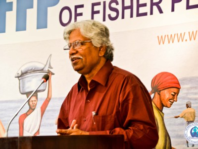 Mr. Muhammad Ali Shah of the Pakistan Fisherfolk Forum