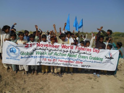 World Fisheries Day 2014 - Pakistan Fisherfolk Forum